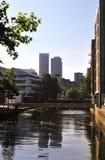 Cidade da manhã Foto de Stock Royalty Free