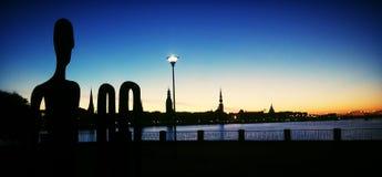 Cidade da manhã Imagem de Stock