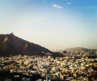 A cidade da Meca Fotografia de Stock
