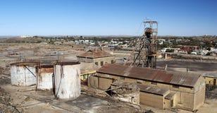 Cidade da mineração foto de stock royalty free
