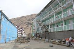 Cidade da mineração de Ghost de Sewell, o Chile imagens de stock royalty free