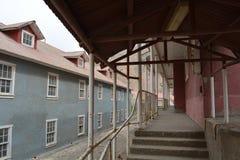 Cidade da mineração de Ghost de Sewell, o Chile foto de stock royalty free
