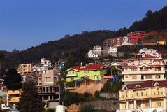 Cidade da montanha Imagem de Stock