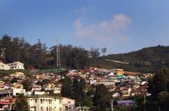 Cidade da montanha Foto de Stock