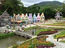 Cidade da morango foto de stock royalty free