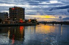 Cidade da noite. Imagem de Stock Royalty Free