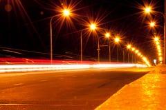 Cidade da noite fotos de stock