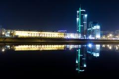 Cidade da noite Foto de Stock Royalty Free