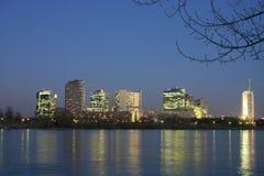 Cidade da ONU em Viena - Áustria Imagem de Stock Royalty Free