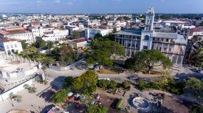 Cidade da pedra de Zanzibar foto de stock