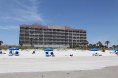 Cidade da praia de jacksonville em florida foto de stock royalty free