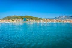 Cidade da separação no verão, Croácia Imagens de Stock