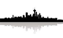 Cidade da skyline Foto de Stock Royalty Free