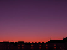 Cidade da skyline da fantasia Imagens de Stock