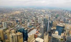 Cidade da skyline de Chicago imagem de stock royalty free