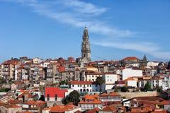 Cidade da skyline de Porto em Portugal Imagem de Stock Royalty Free