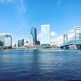 Cidade da vista Imagem de Stock Royalty Free