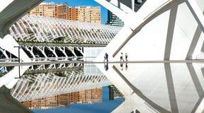 Cidade das artes e das ci?ncias imagens de stock royalty free