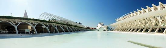 Cidade das artes e da ciência Fotografia de Stock