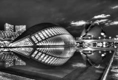 Cidade das artes e da ciência Fotos de Stock Royalty Free
