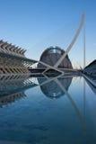 Cidade das artes e da ciência, Valença Foto de Stock Royalty Free