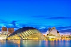Cidade das artes e das ciências Fotos de Stock