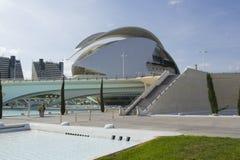 Cidade das artes e das ciências em Valença Imagens de Stock Royalty Free