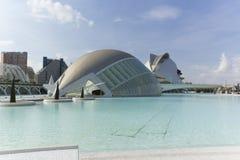 Cidade das artes e das ciências em Valença Imagens de Stock