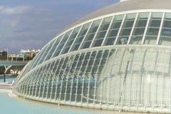 Cidade das artes e das ciências em Valença Imagem de Stock Royalty Free
