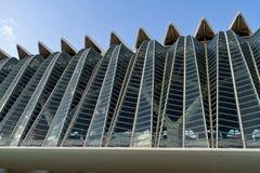 Cidade das artes e das ciências Valença, Spain Foto de Stock