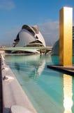 Cidade das artes - estruture a reflexão na associação Imagens de Stock Royalty Free