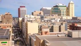 Cidade de Adelaide e alameda de Rundle Fotos de Stock Royalty Free