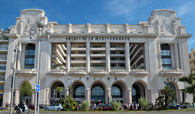 Cidade de agradável - palácio mediterrâneo do hotel Foto de Stock