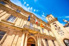 Cidade de Aix-en-Provence em França Imagem de Stock