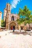 Cidade de Aix-en-Provence em França Fotos de Stock Royalty Free