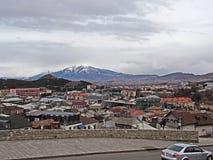 Cidade de Akhaltsikhe em Geórgia imagens de stock