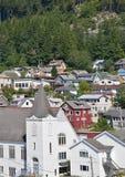 Cidade de Alaska Fotos de Stock Royalty Free