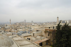 Cidade 2010 de Aleppo - Síria Imagem de Stock