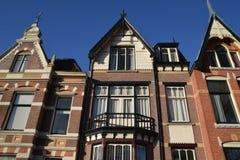 Cidade de Alkmaar da paisagem da Holanda Fotos de Stock