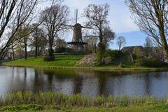 Cidade de Alkmaar da paisagem da Holanda Imagem de Stock Royalty Free