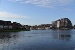 Cidade de Alkmaar da paisagem da Holanda Fotografia de Stock Royalty Free