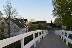 Cidade de Alkmaar da paisagem da Holanda Fotos de Stock Royalty Free
