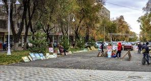 Cidade de Almaty Imagem de Stock Royalty Free