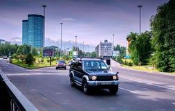 Cidade de Almaty Imagem de Stock