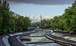 Cidade de Almaty Fotos de Stock
