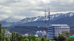 Cidade de Almaty vídeos de arquivo