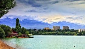 Cidade de Almaty Foto de Stock Royalty Free