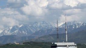 Cidade de Almaty video estoque