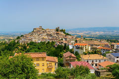 Cidade de Altomonte e seus arredores, Itália Foto de Stock