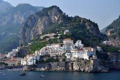 Cidade de Amalfi Fotografia de Stock